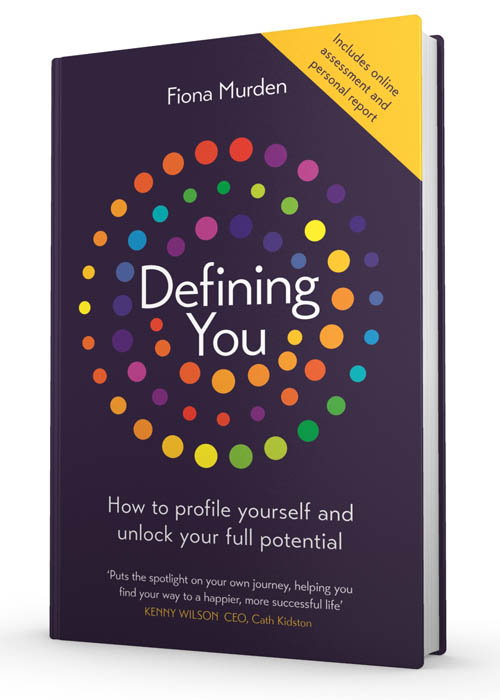 book cover of Defining You, non-fiction book PR & publicity, READ Media